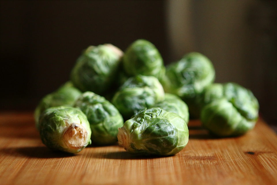 Pecan-Glazed Brussel Sprouts