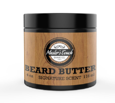 Masters Touch Beard Butter Signature Scent - 2 OZ Travel Size