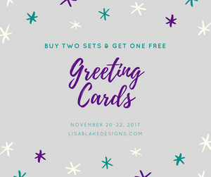 Buy 2, Get 1 Free on all greeting cards