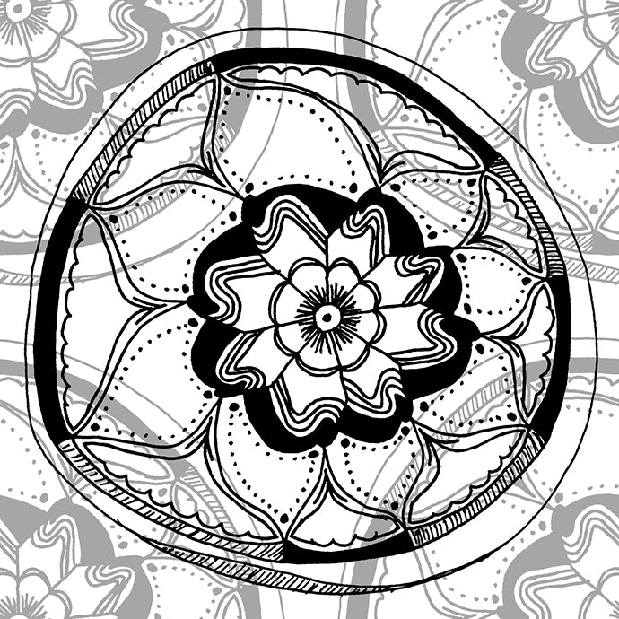 Mandala Pattern Background 690