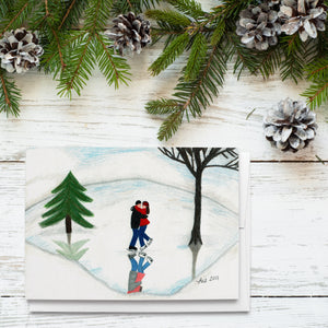 Christmas Love Holiday Greeting Cards