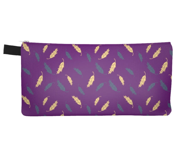 Flowers & Feathers Floating Feathers Pencil Case