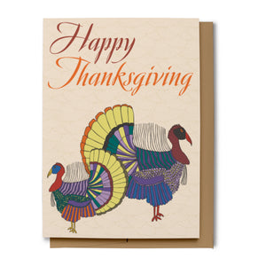 Happy Thanksgiving Card (100% Recycled)