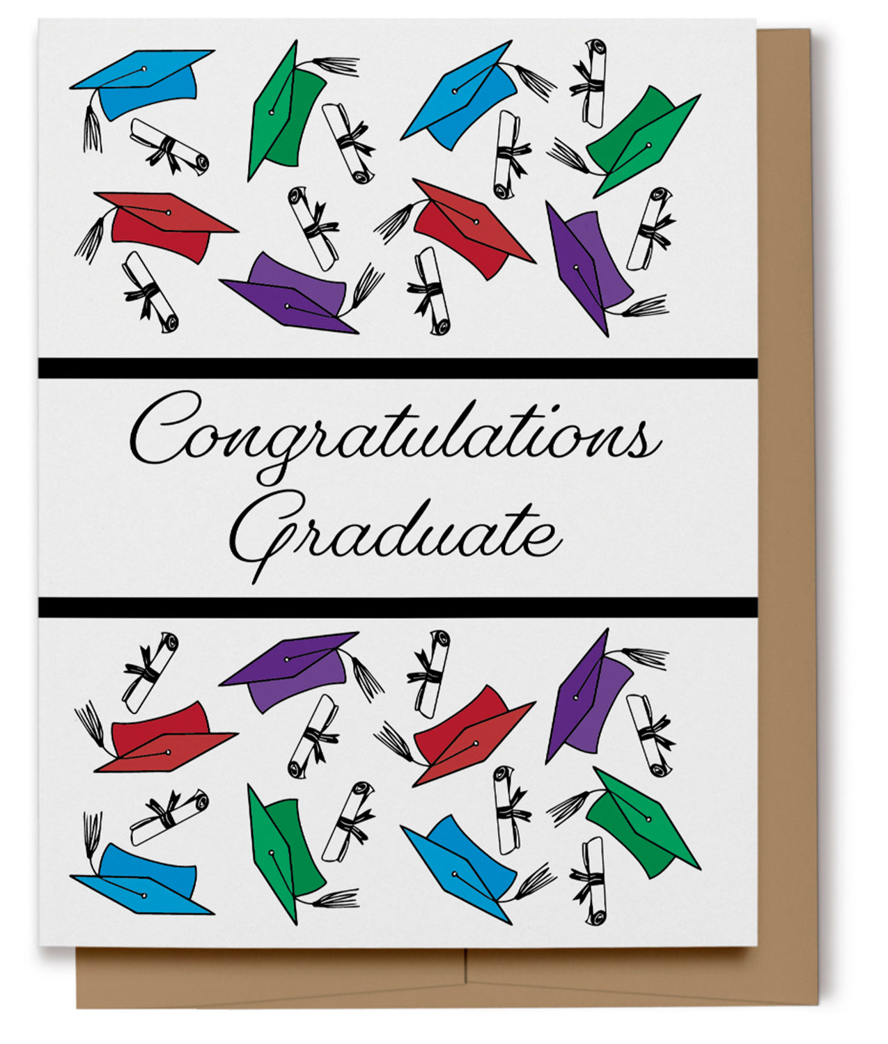 Congratulations Graduate Card (100% Recycled)