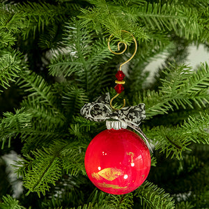 Hand-Painted Glass Ball Ornament Gift Set No. 19
