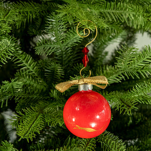 Hand-Painted Glass Ball Ornament Gift Set No. 28
