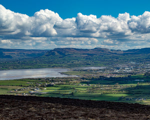 Climbing Knocknarea - August