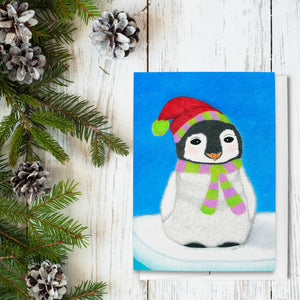 Merry O'Penguin Holiday Greeting Cards