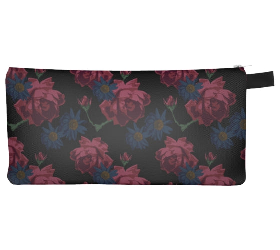 Moody Roses Pencil Case