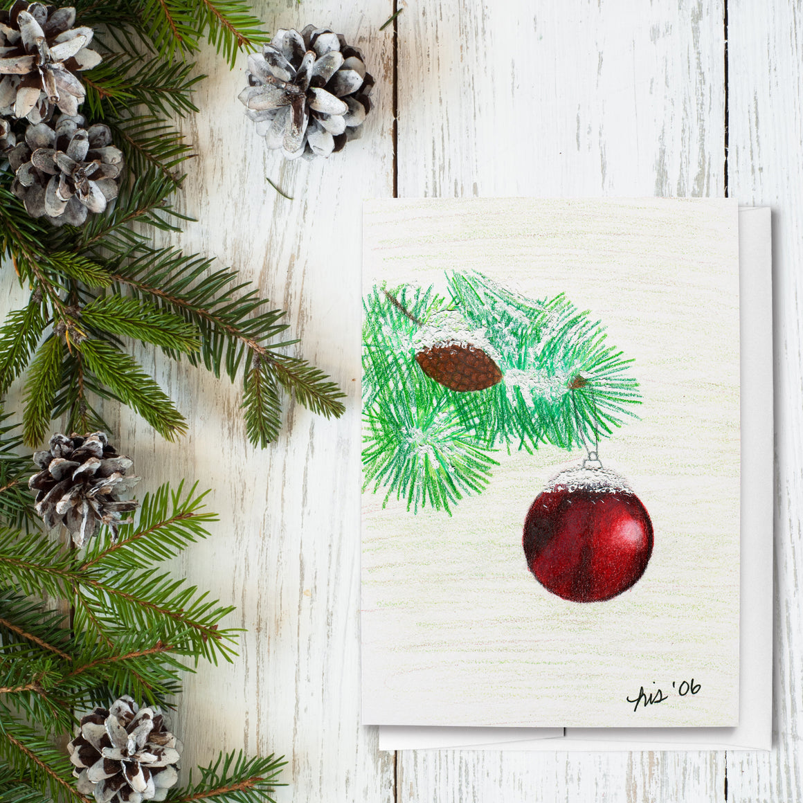 Ornament Holiday Greeting Cards