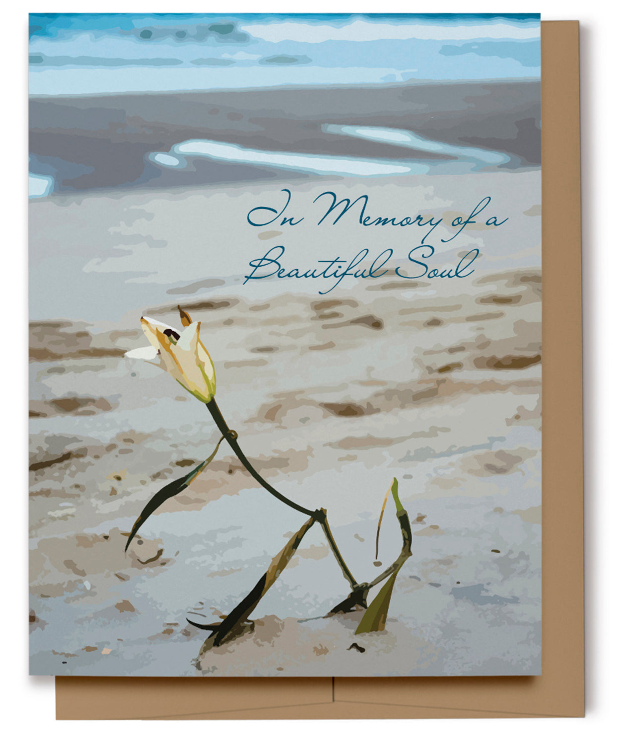 In Memory of a Beautiful Soul Card (Imperfect)