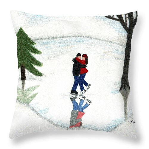 Christmas Love Throw Pillows