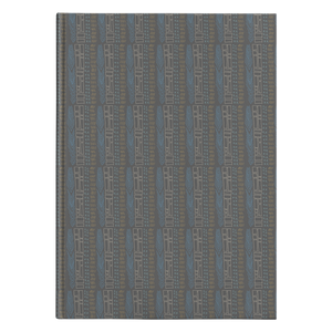 Tribal Teal Feather Hardcover Journal