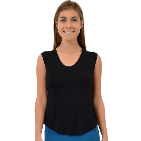 Women's Angelina Scoop Neck Tank Top