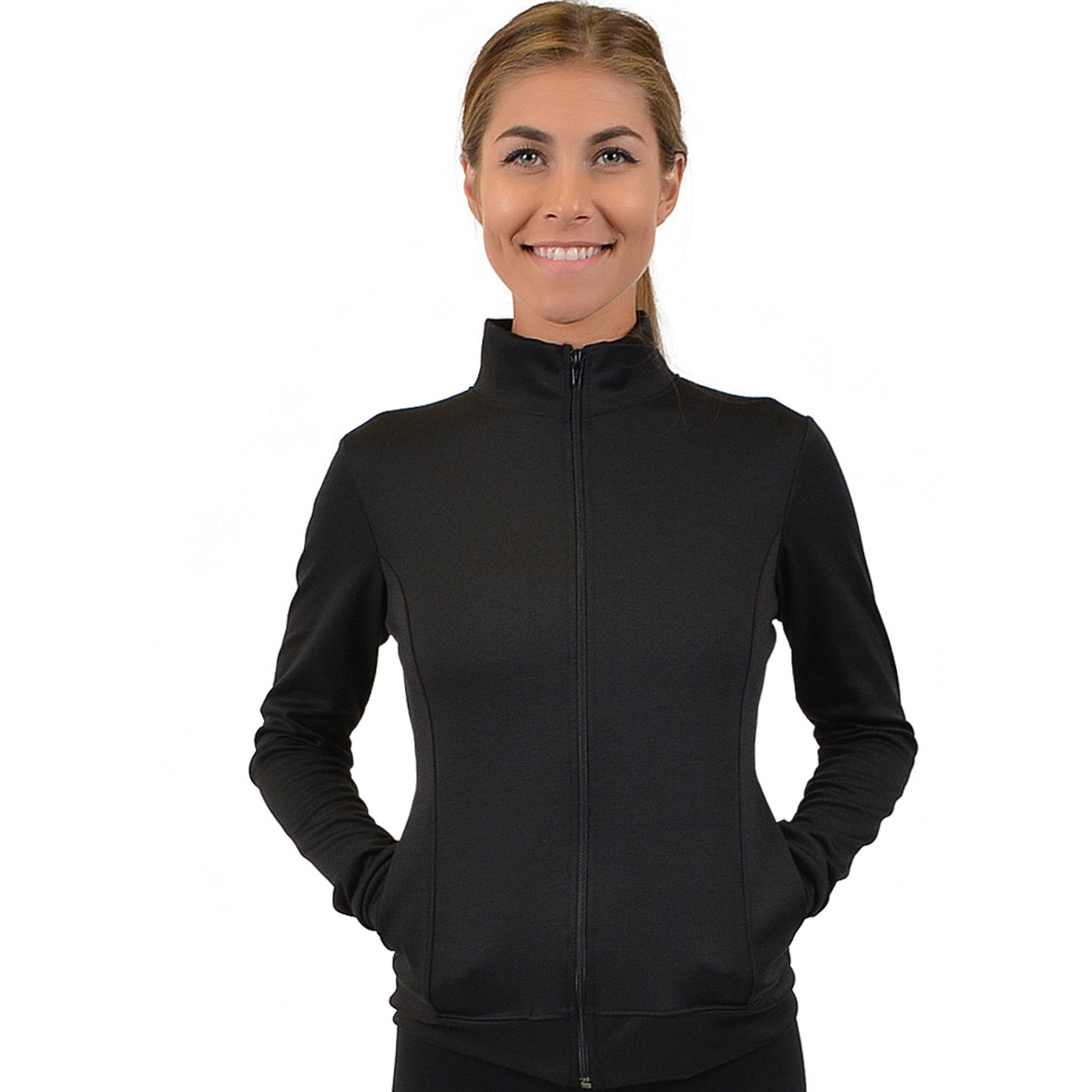 ACTIVE Viscose/Nylon/Spandex Cadet Warm Up Jacket Sizer Kit