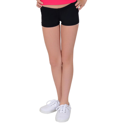 Girl's COTTON Stretch Booty Shorts