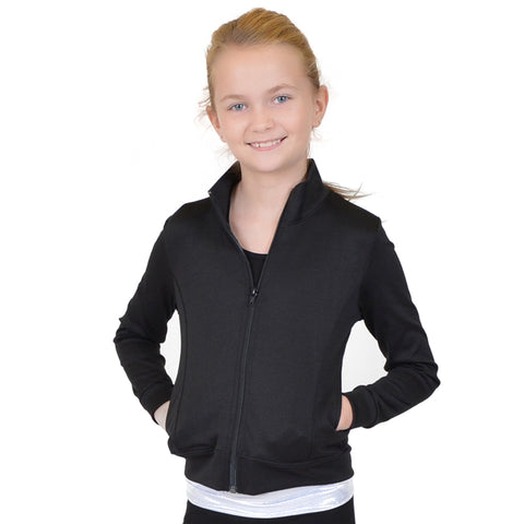 Teamwear Viscose/Nylon/Spandex Cadet Warm Up Jacket