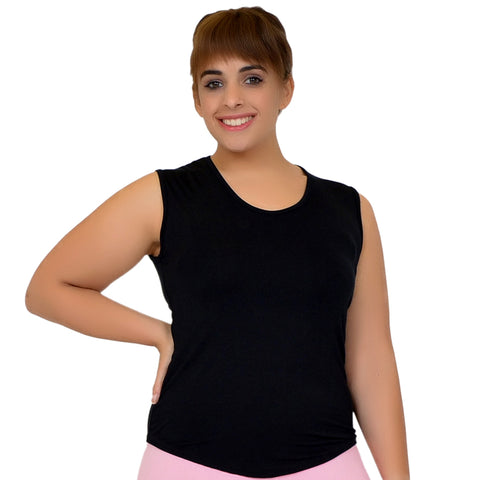 Plus Size Angelina Scoop Neck Tank Top