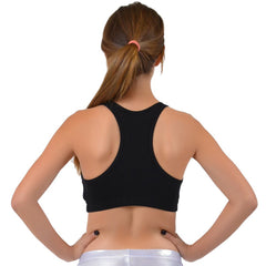 Teamwear Racerback Cotton Sports Bras