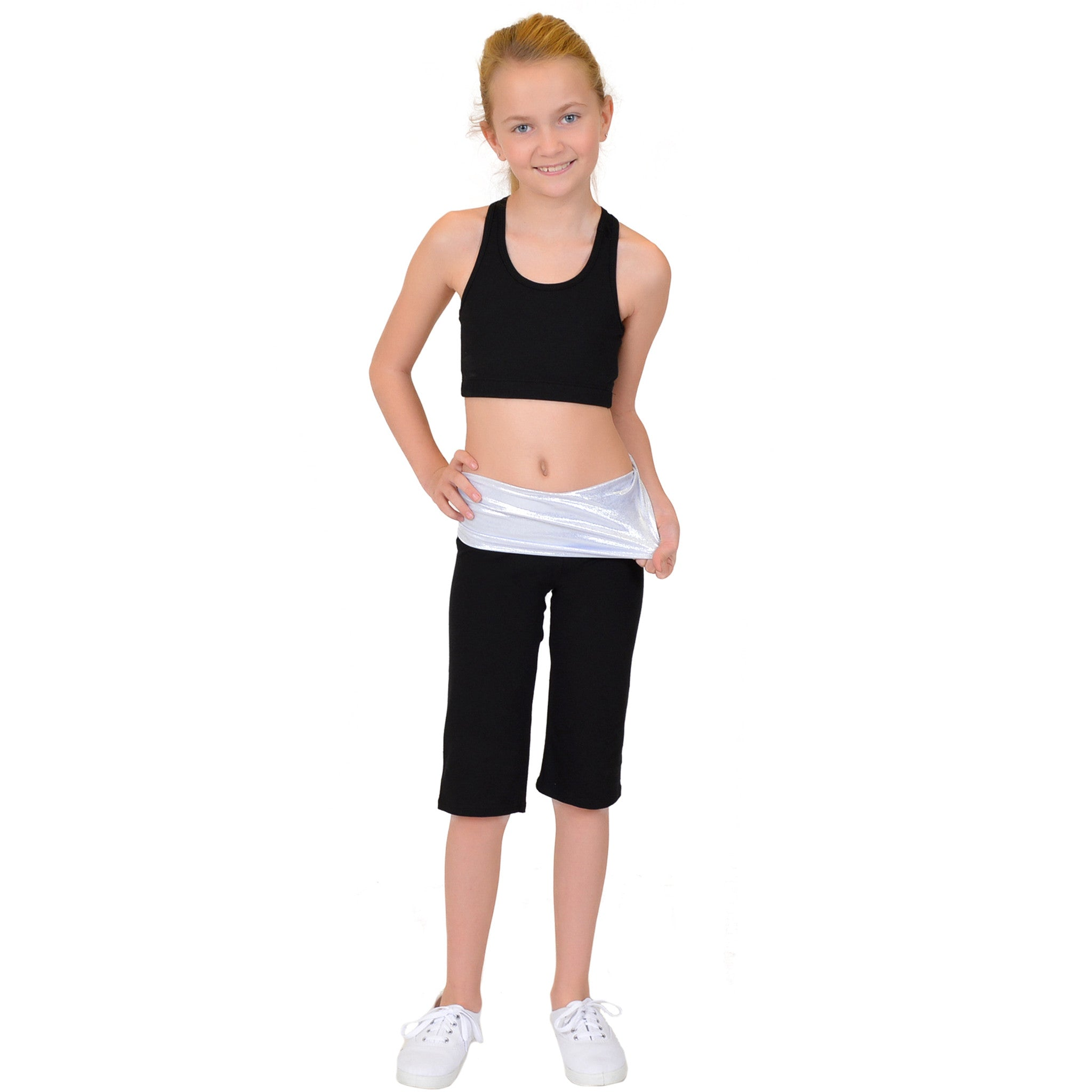 Girl's Racerback Cotton Sports Bras