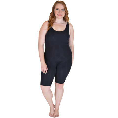 Plus Size Workout Tank Unitard NYLON BIKETARD
