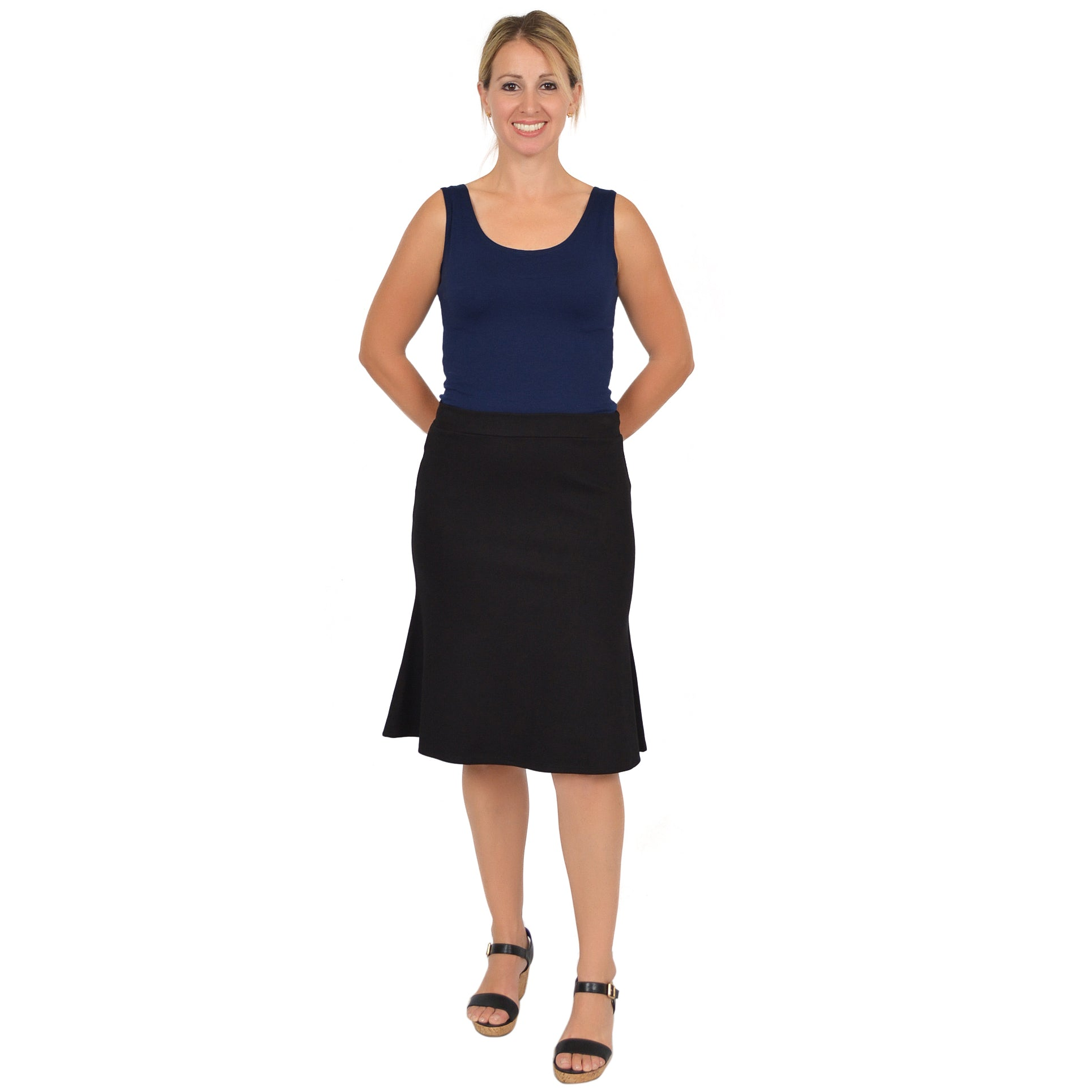 Women's Flared Trumpet Skirt