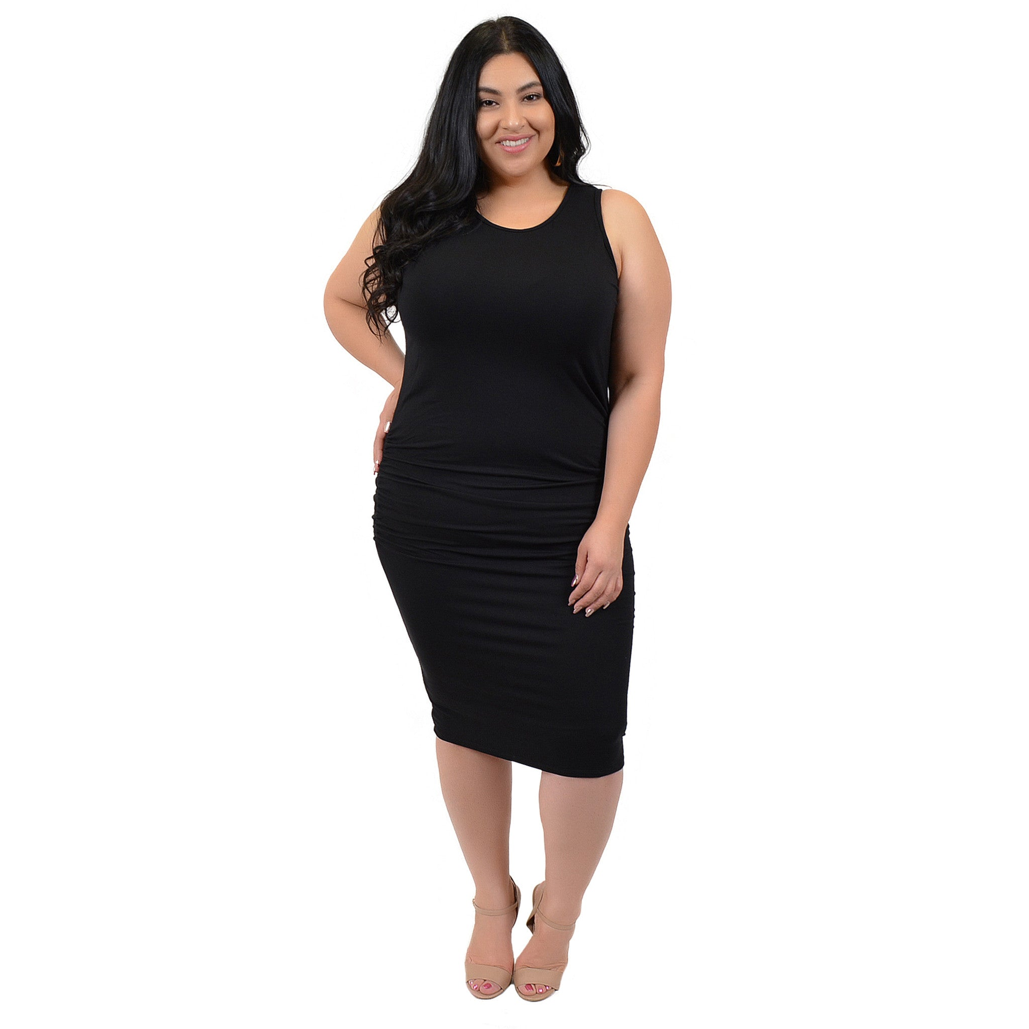 Stretch is Comfort Women\'s Plus Size Tank Dress – Stretch Is Comfort