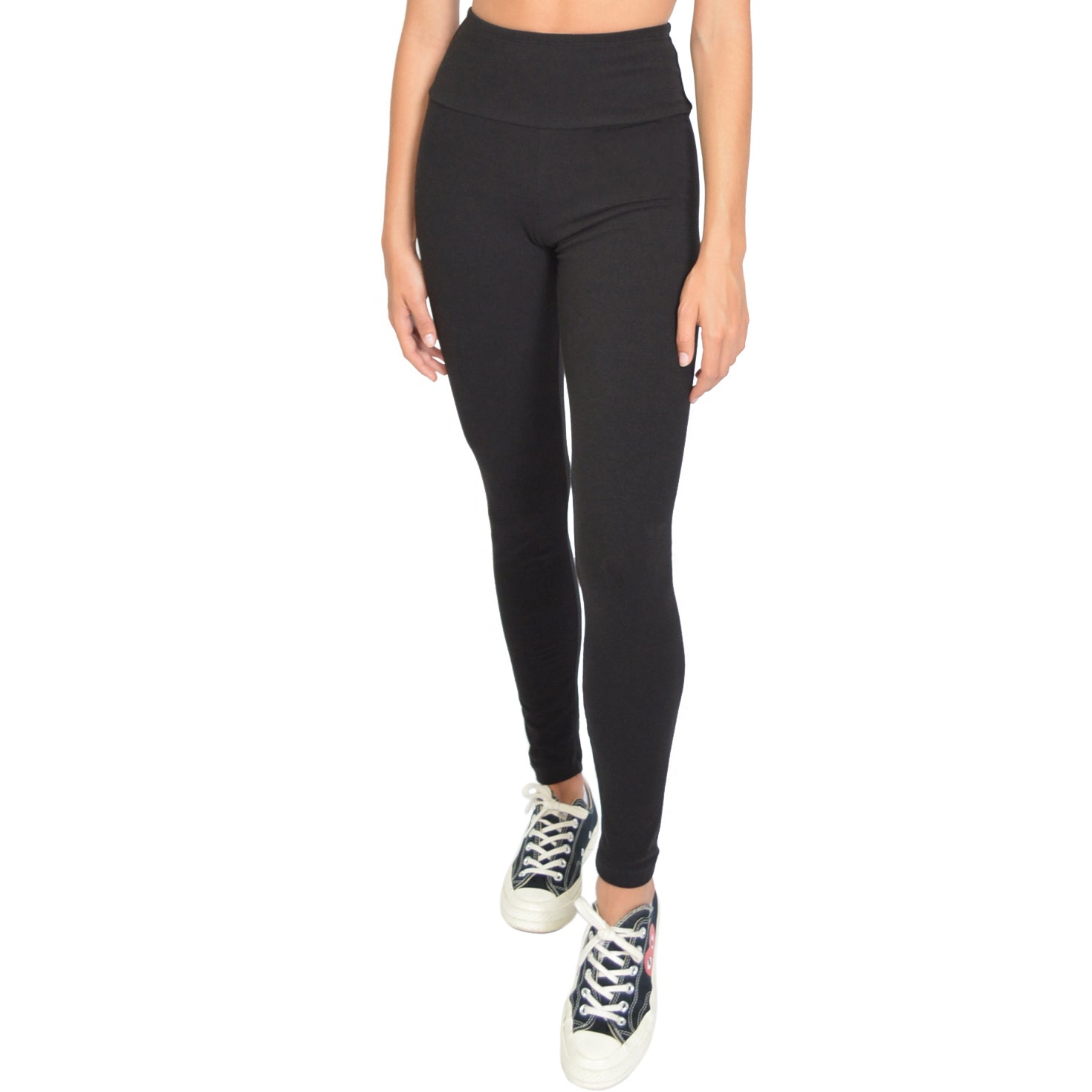 wide selection of colors highly coveted range of limited guantity Women's High Waist Cotton Stretch Leggings