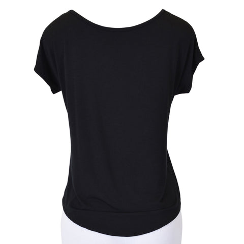"Women's High-Low ""Hey Batter Batter"" Baseball Modal Tee"