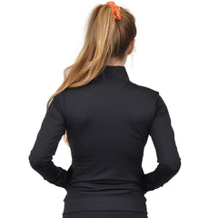 Personalizable and Customizable Women's Viscose Cadet Warm Up Jacket