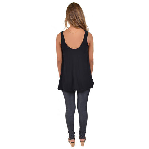 "Women's Modal ""Cheer Mom"" Ava Tunic Tank"