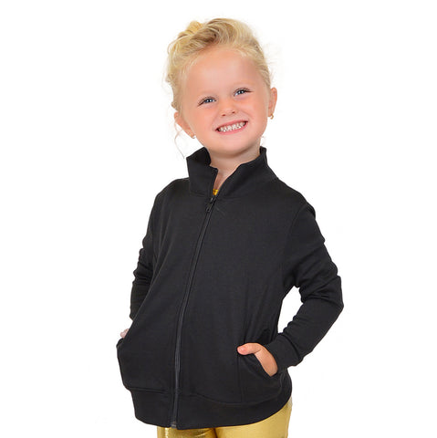 Personalizable and Customizable Girl's Performance Cadet Warm Up Jacket
