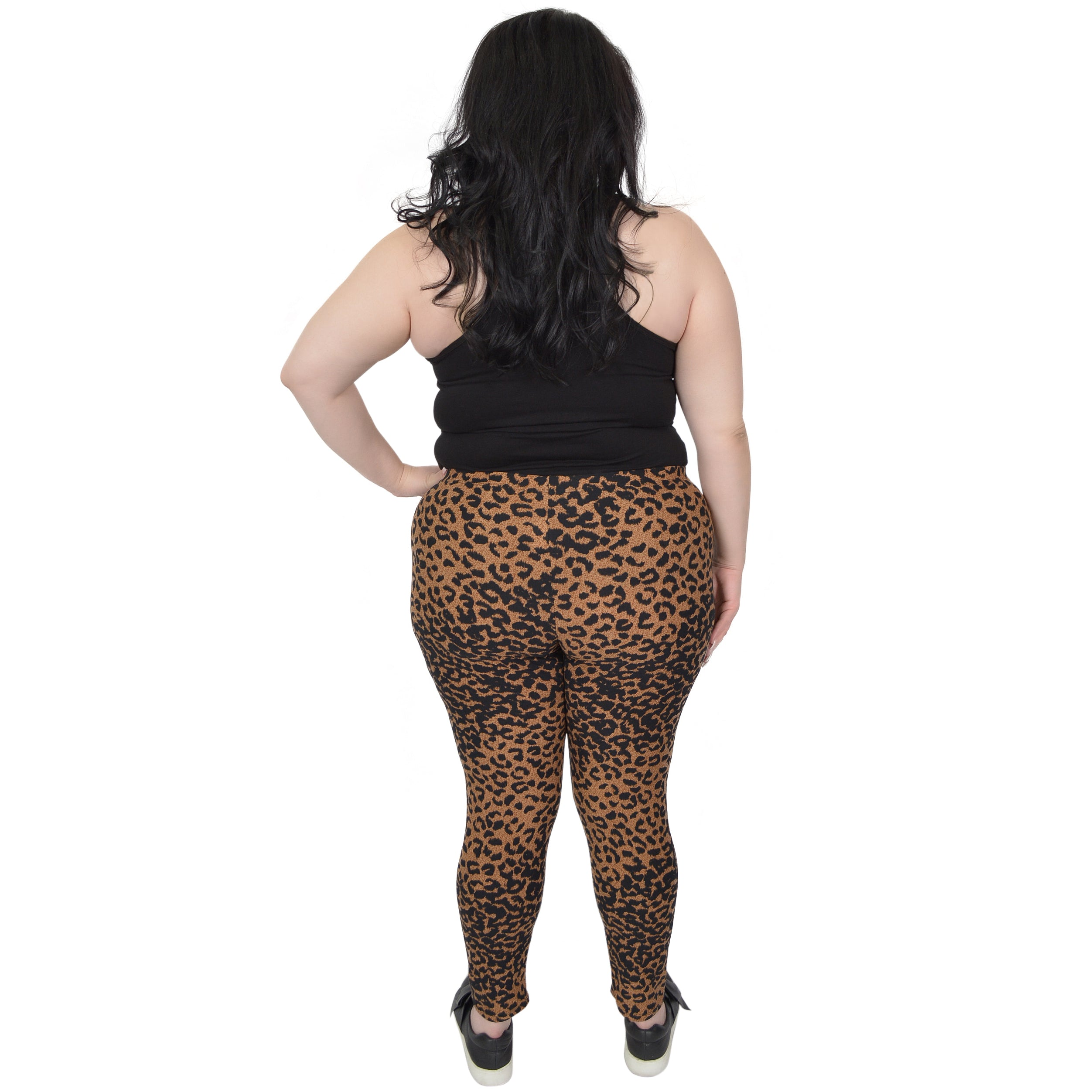 Plus Size Print Leggings