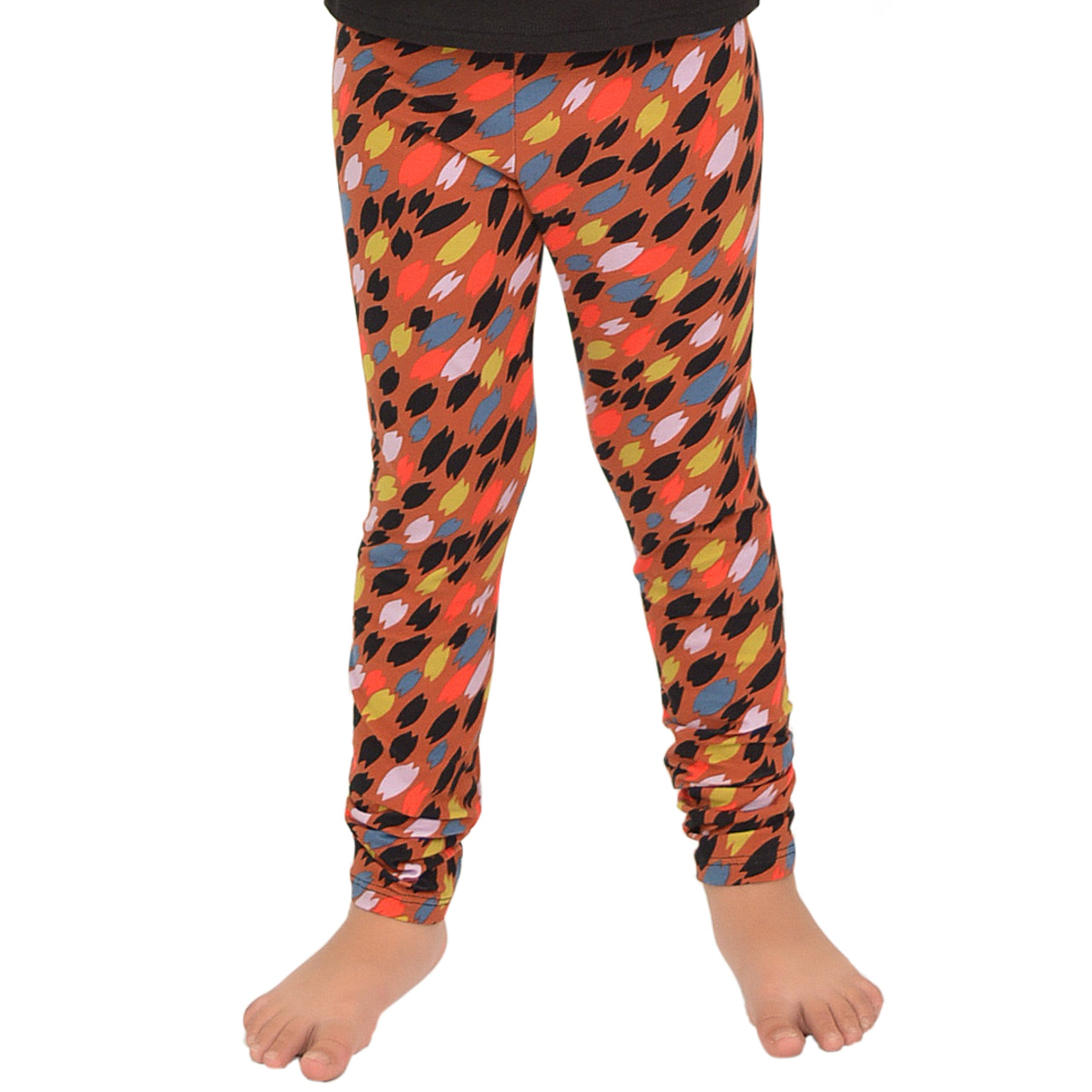 Girl's Print Leggings