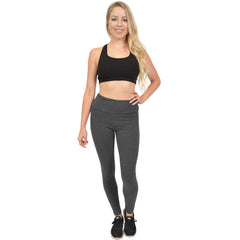 Women's High Waist Cotton Stretch Leggings