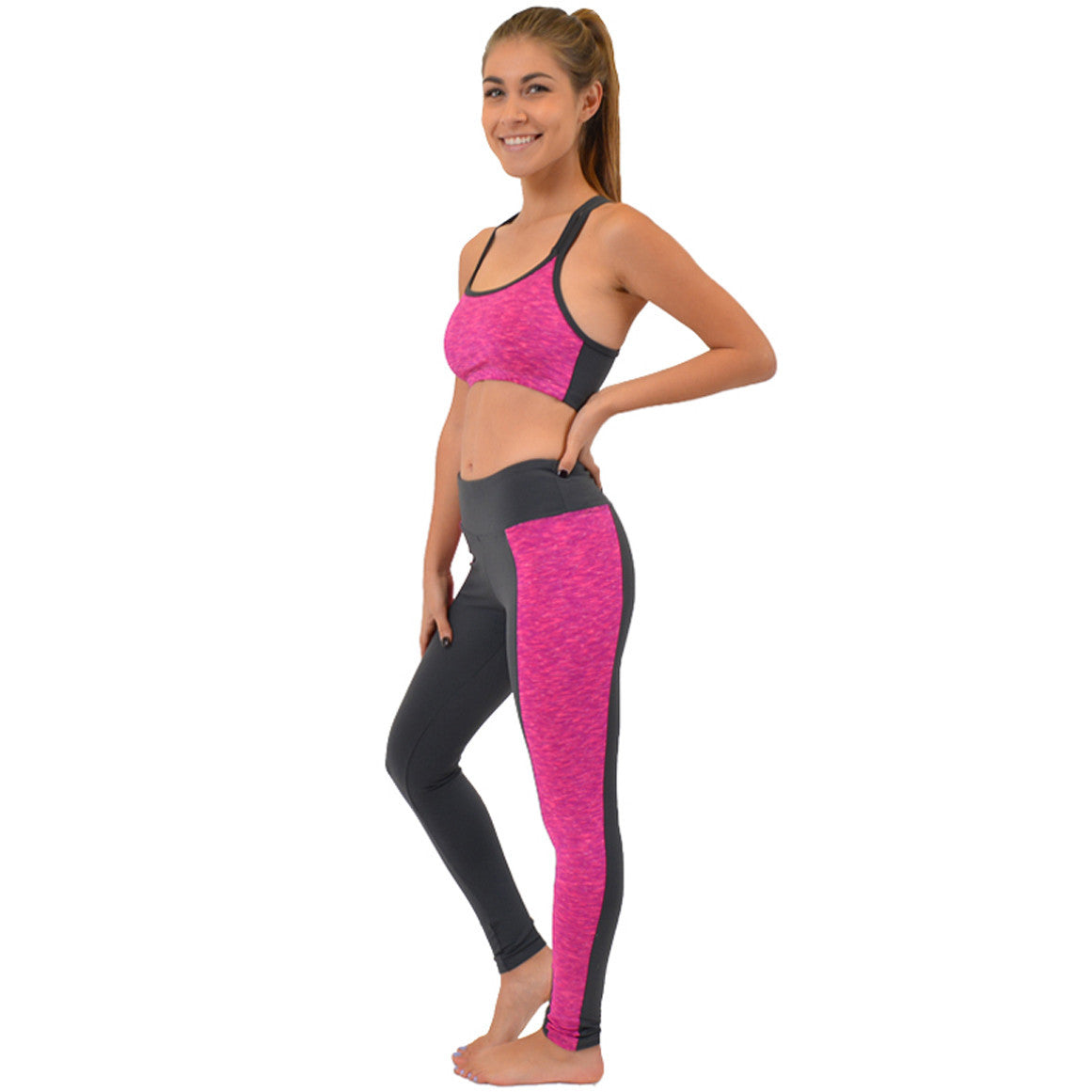 Teamwear Vicky Two-Tone Leggings