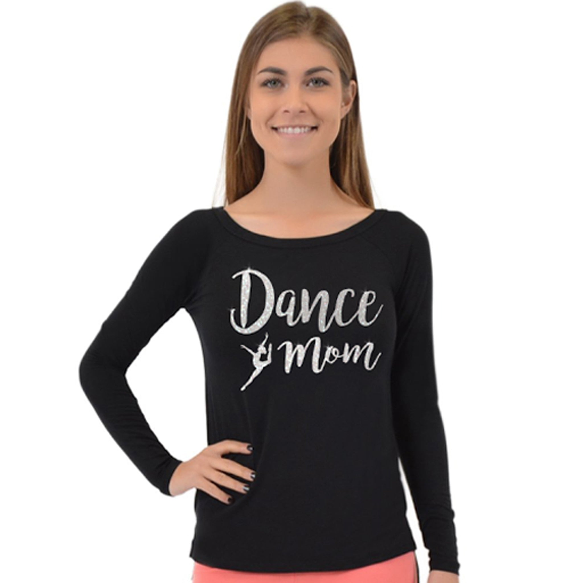 Women's Long Sleeve Dance Mom Top