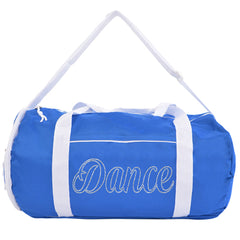 Kaysees Personalized Two-Tone Sport DANCE Duffel Bags with Dancer's Name
