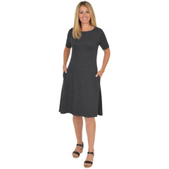Plus Size Madison Short Sleeve Dress