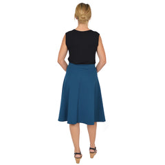 Women's Viscose A-Line Work Skirt