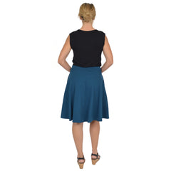 Women's Circle Skirt With Pockets