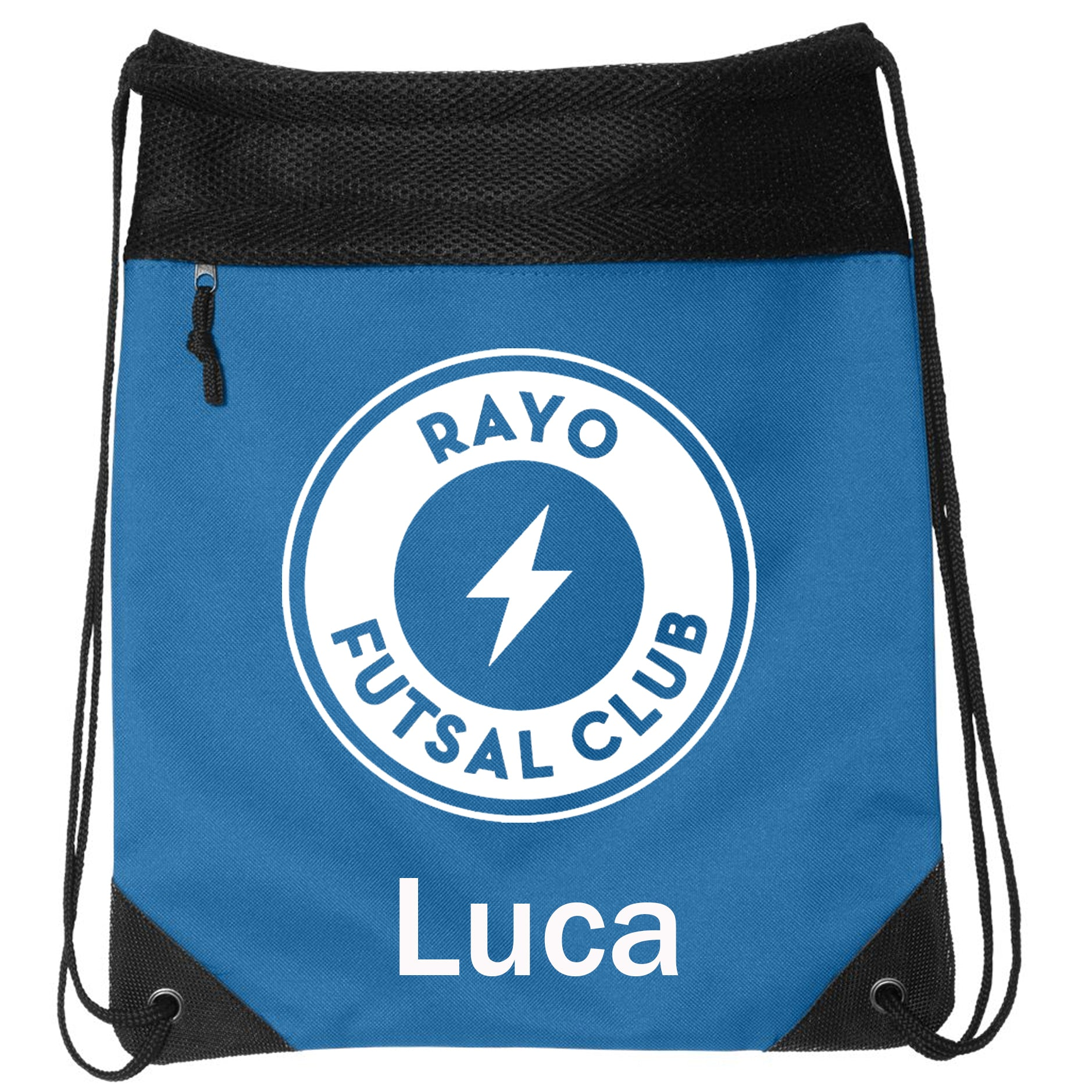 Rayo Futsal Club Liberty Bags - Coast to Coast Drawstring Backpack