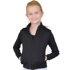 Personalizable and Customizable Girl's  Cotton Warm Up Jacket