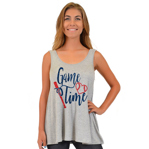 "Women's Modal ""Game Time"" Ava Tunic Tank"