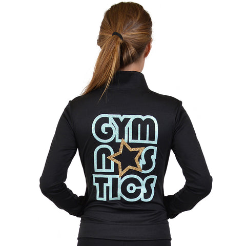 Women's Glitter Gymnastics Jacket