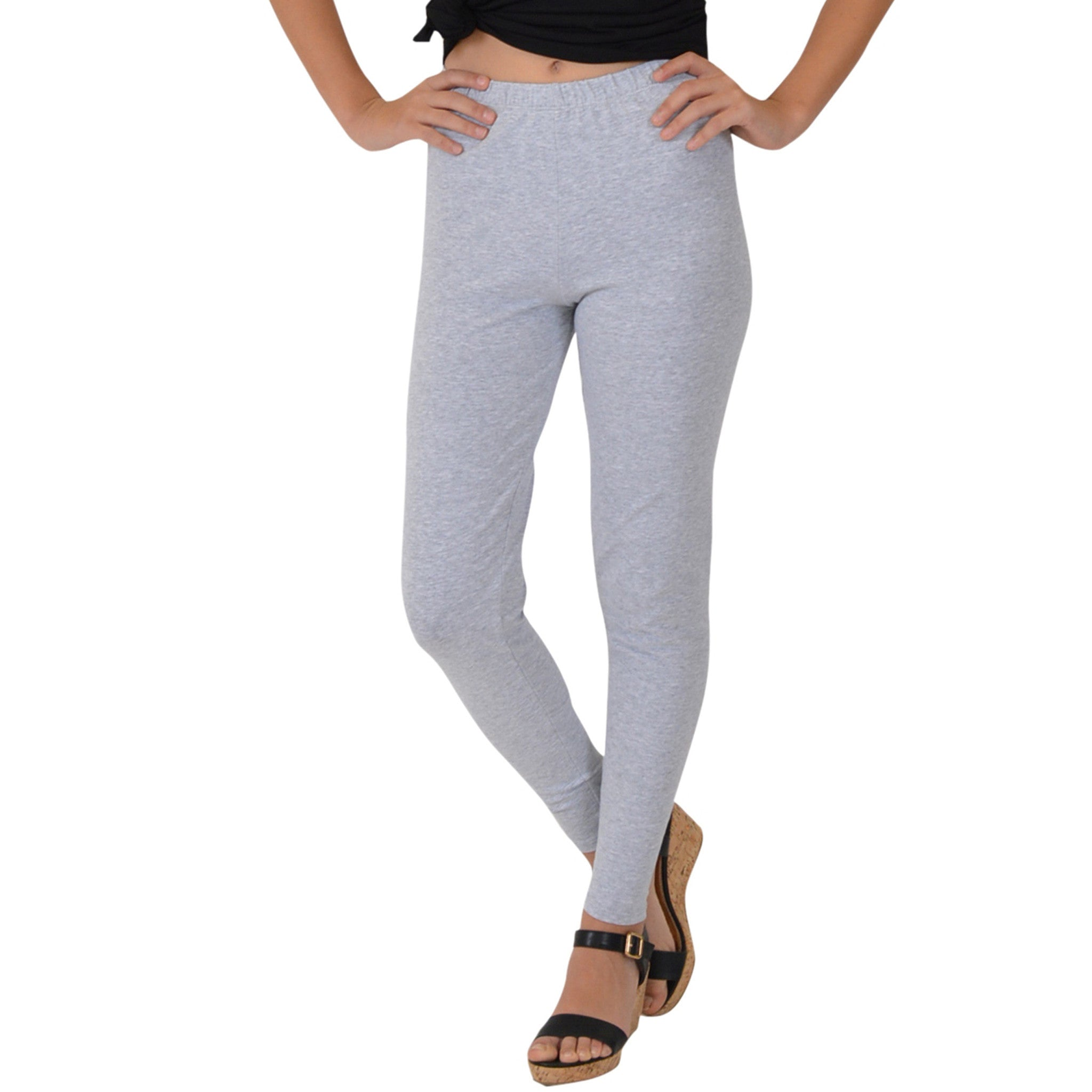 Teamwear Cotton Leggings 1