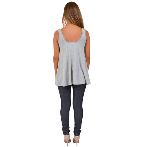 "Women's Modal ""No Place Like Home"" Ava Tunic Tank"