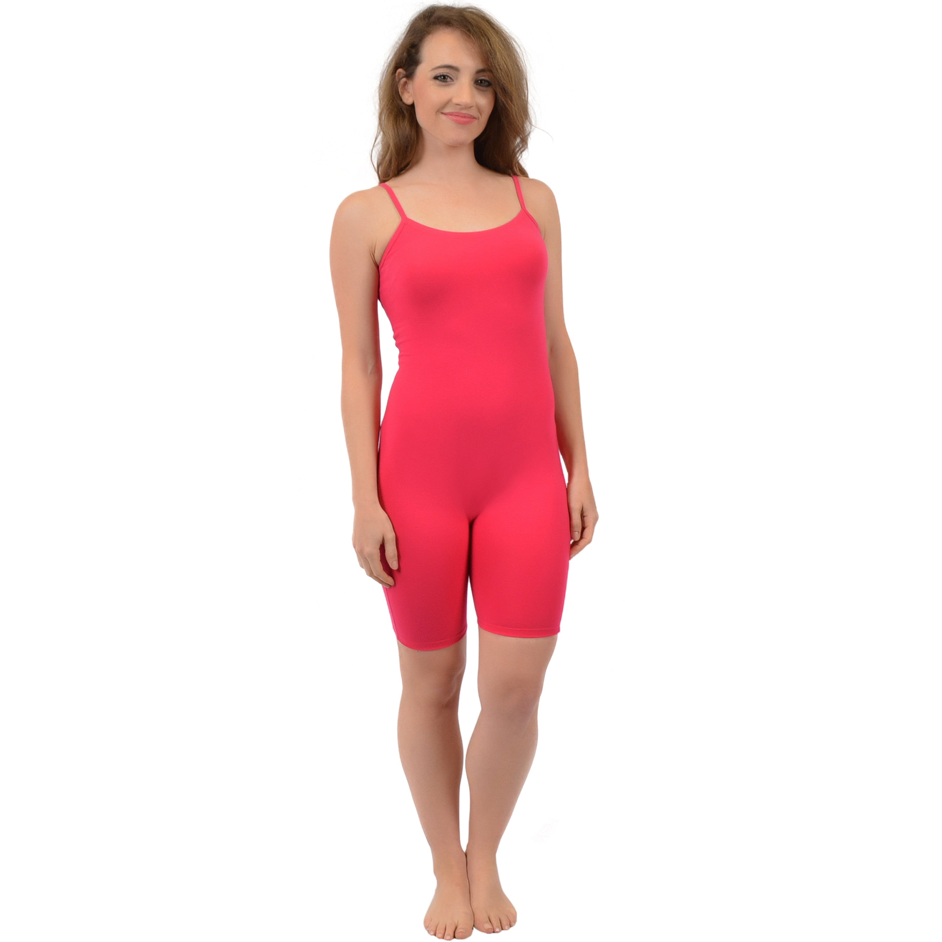 Women's Cotton Camisole Unitard Shorties