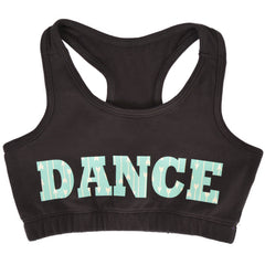 Girl's Racerback Sports Bra Dance in Mint