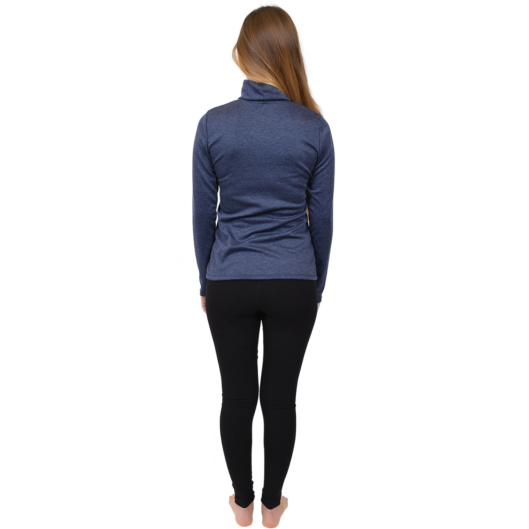 Women's Warm Long Sleeve Turtleneck Top